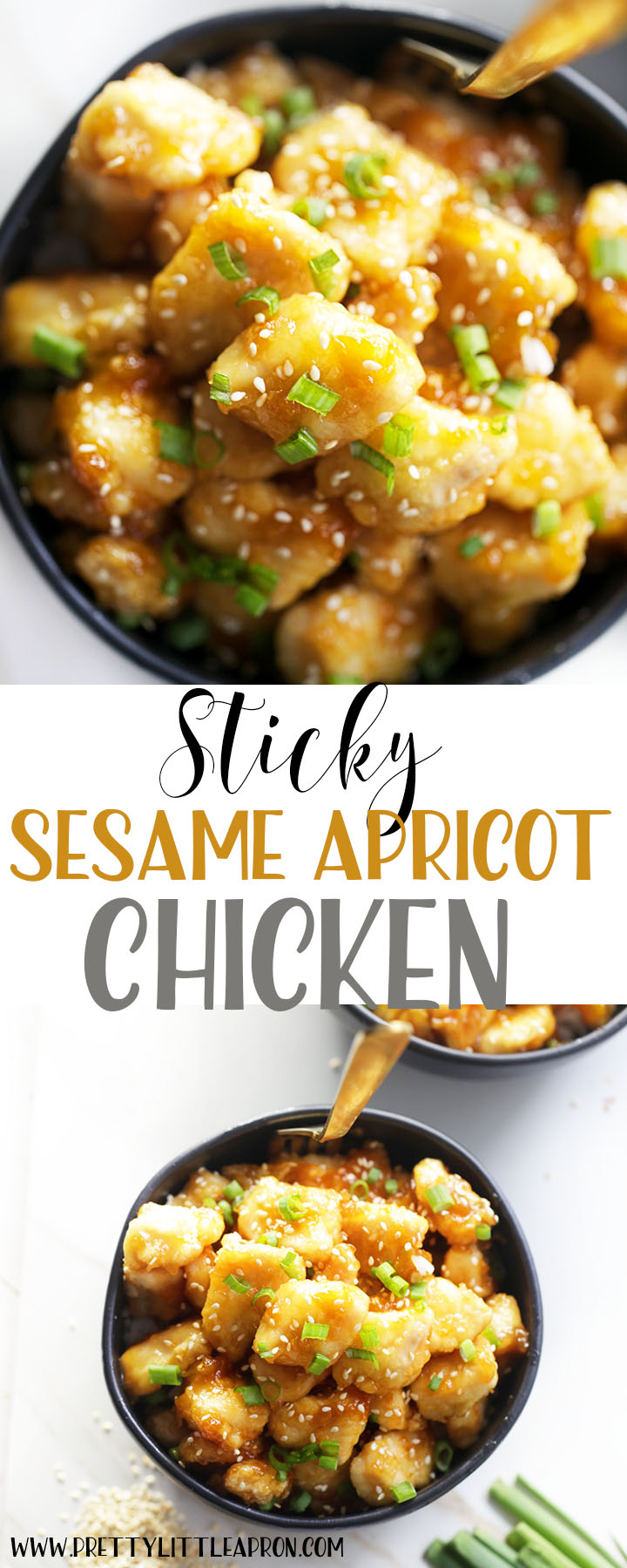 Sesame Apricot Chicken